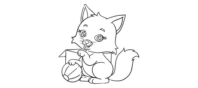 Kot Kolorowanka Do Druku Stylisi