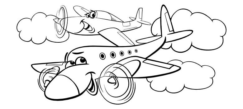 Samolot Kolorowanka Do Druku Stylisi